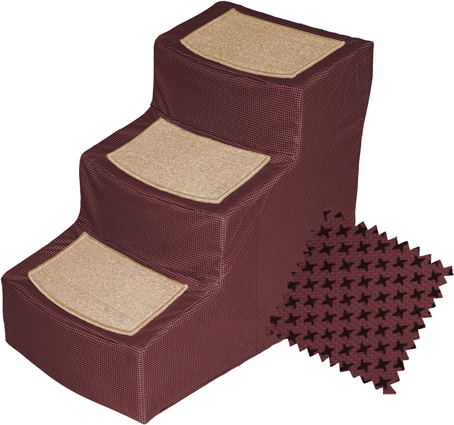 Pet Stairs Pet Gear Designer with Removable Cover