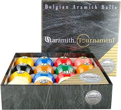 Torneo de Aramith Pro-cup TV Juego de bolas de billar: Amazon.es ...