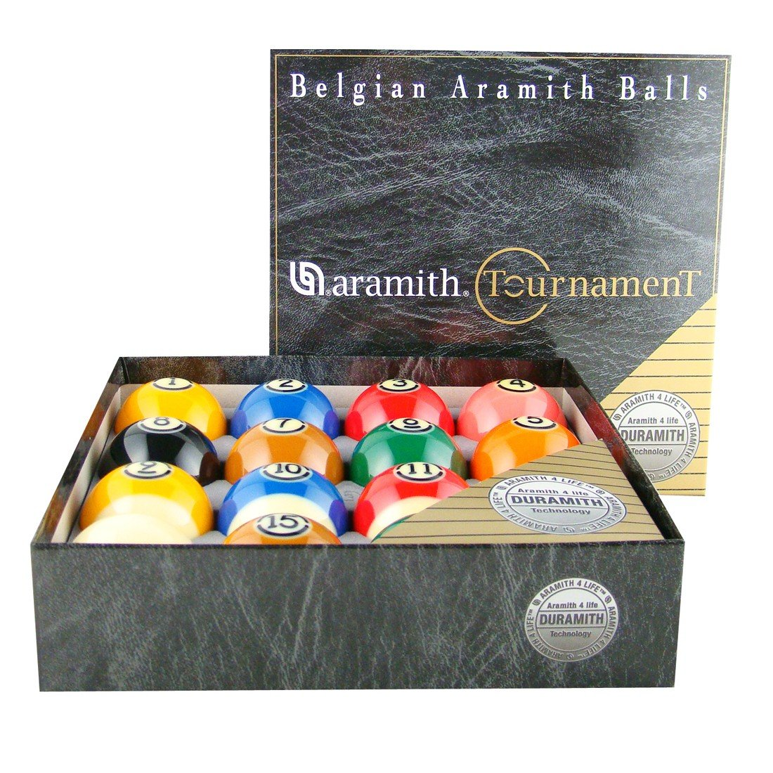 Aramith Tournament Pro-Cup TV Billiard Ball Set by Action