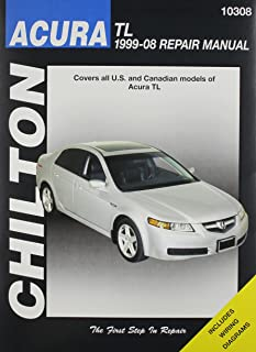 amazon com haynes acura tl 1999 thru 2008 repair manual 12050 rh amazon com 1997 acura cl 2.2 repair manual 1997 acura cl owners manual pdf