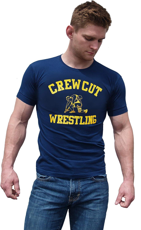 Ajaxx63 Men's AF Crew Cut Wrestling T-Shirt