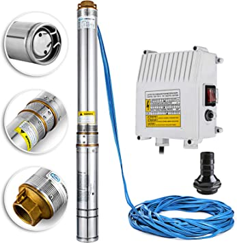 [ZHKZ_3066]  Happybuy Well Pump 1.5 HP 220V Submersible Well Pump 335ft Head 24GPM  Stainless Steel Deep Well Pump for Industrial and Home Use - - Amazon.com   Well Pumps Wiring Diagram 110      Amazon.com