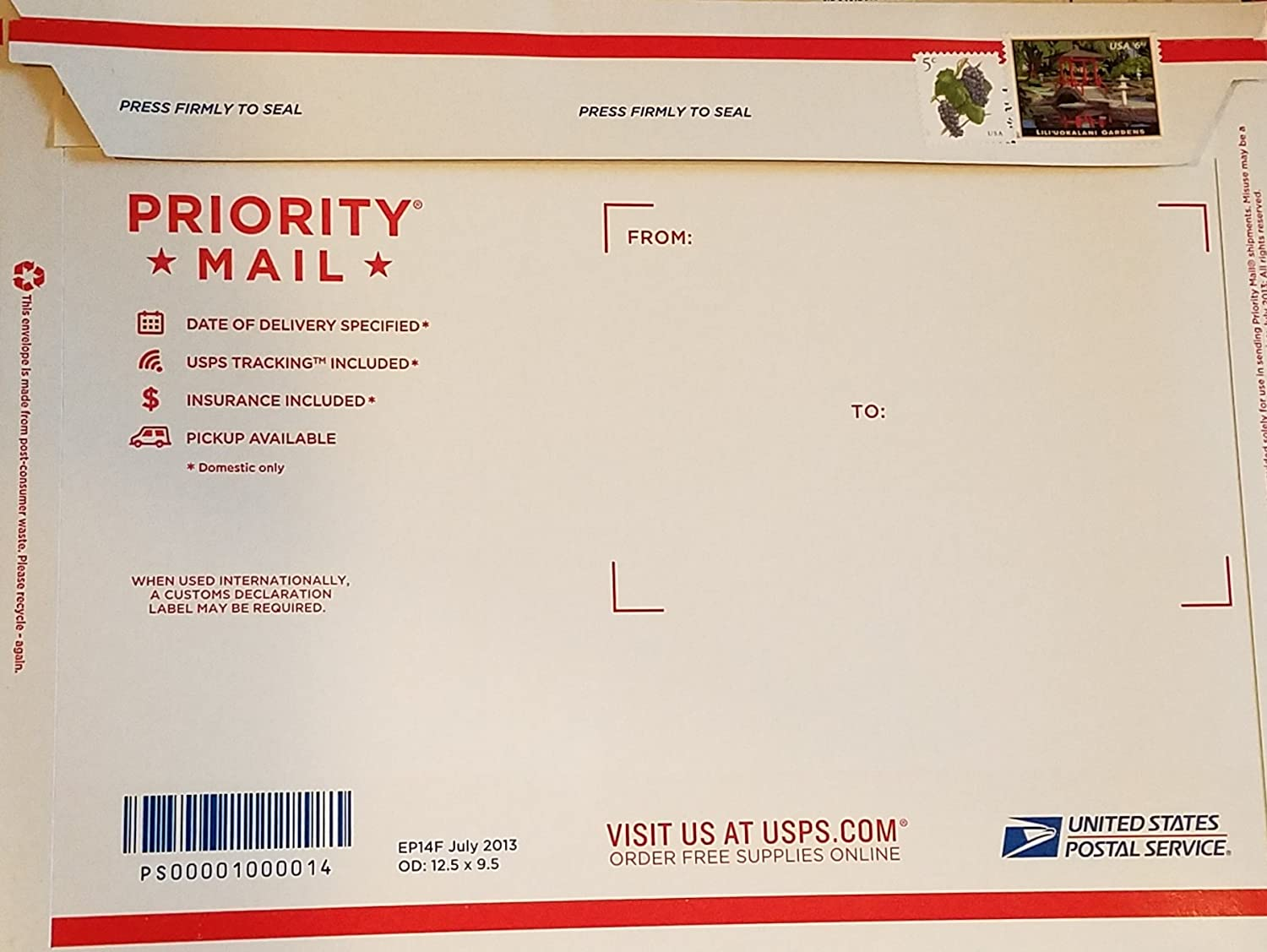 is the us post office open on july 5