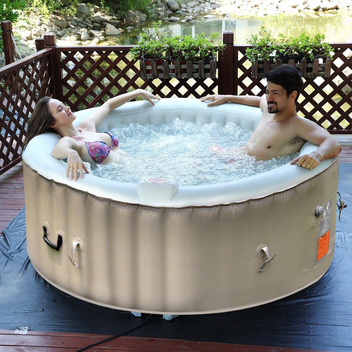 The Best Outdoor Hot Tubs For Your Garden: Reviews & Buying Guide 8