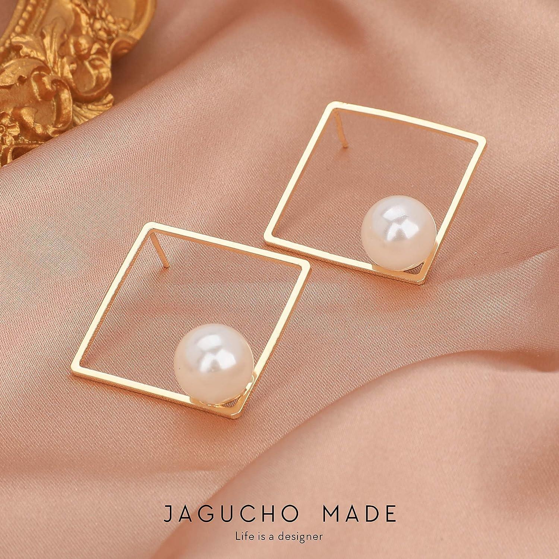 Handmade Graduated Pearl Ball Drop Dangle Earrings choose Hooks or Studs 54B