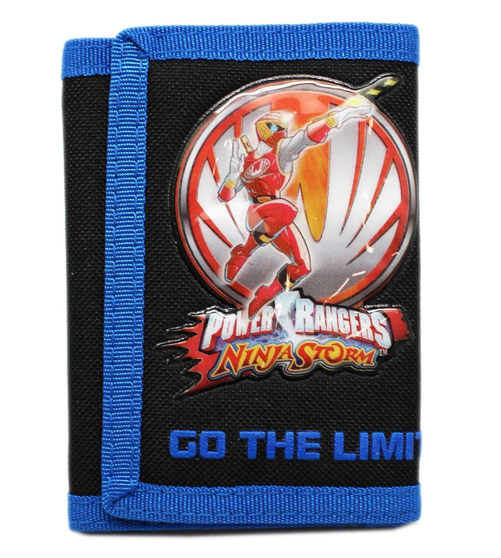 Power Rangers Ninja Storm - Cartera plegable para niños ...