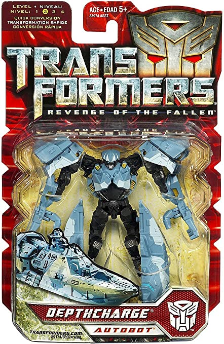 Transformers Revenge of the Fallen Depthcharge Complete Scout ROTF