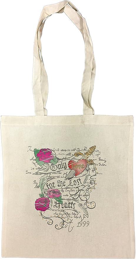 Only Love Bolsa De Compras Playa De Algodón Reutilizable Shopping ...
