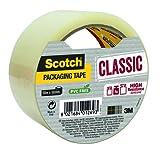 Scotch Rouleau Individuel Ruban Polypropylène Classic - 50 mmx 50 m - Couleur Transparent