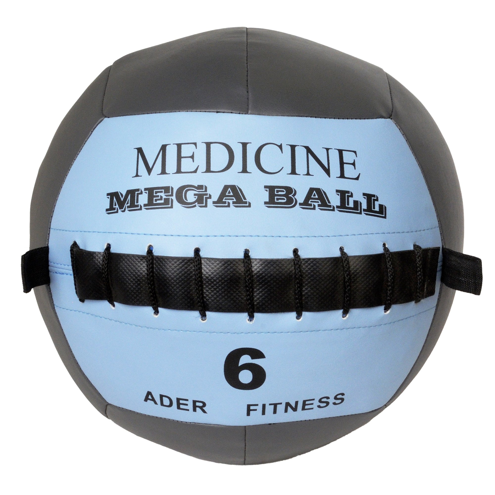 Ader Soft Mega Medicine Ball Set- 6, 10, 14, 18, 22 Lb (Total 5 Pcs) by Ader Sporting Goods