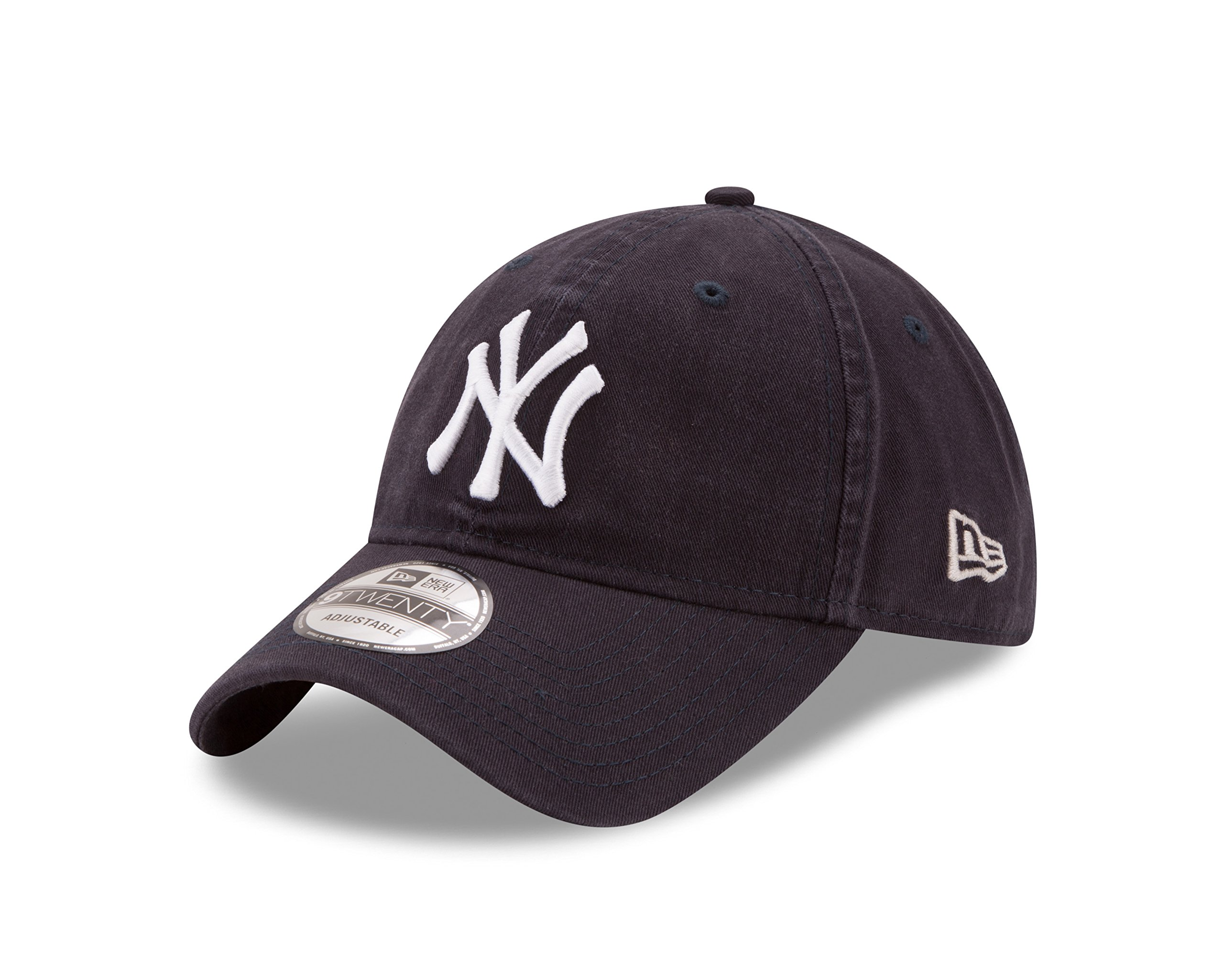 New Era New York Yankees MLB Core Classic 9TWENTY Adjustable Cap Navy by New Era (Image #1)