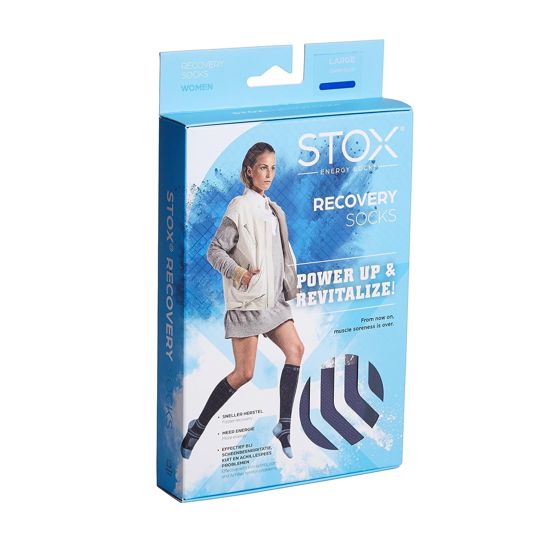STOX Calze da corsa Donna Calze compressive Calze per sport Evita dolori alla tibia mal di muscoli e crampi surali!