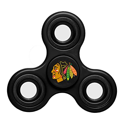 Chicago Blackhawks Diztracto Spinnerz - Three Way: Sports & Outdoors