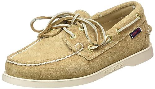 hot sale online 60ecf ef81c Sebago Women's Docksides Portland Suede W Boat Shoes