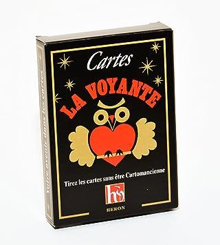 59d86ad0c5a4df Grimaud - La Voyante Sous Blister - Cartomancie  Amazon.fr  Jeux et ...