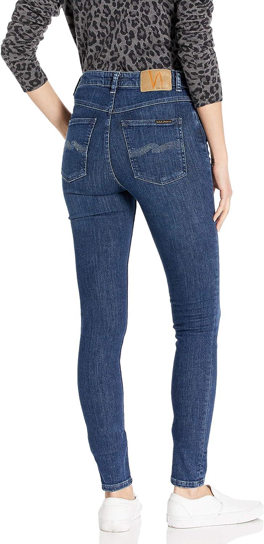 Nudie Jeans Womens Hightop Tilde Blue Tide