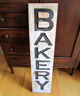 Amazon Handcrafted Vintage Bakery Steel Sign 36 X 10