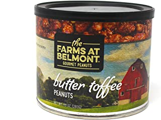 product image for Belmont Peanuts Artisan Gourmet Virginia Peanuts (Butter Toffee, 10 oz)