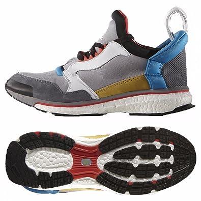 581f93587f33e adidas Originals Blue Boost Energy S82497 Onix White Suede Torsion Men s  Shoes (Size 8