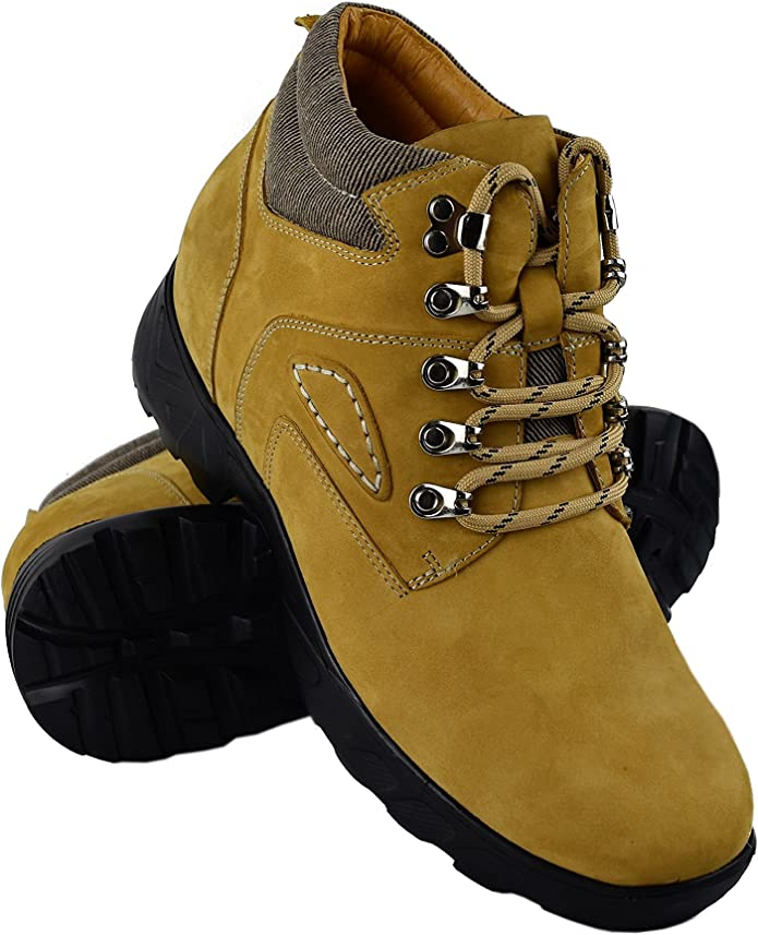 TALLA 40 EU. ZERIMAR Botas con Alzas Interiores para Hombres Aumento 8 cm | Zapatos de Hombre con Alzas Que Aumentan Su Altura | Zapatos Hombre | Zapatos Hombre Casuales