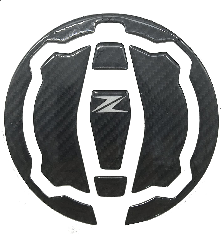 Amazon.com: 3D Real Carbon Fiber Tank Gas Cap Pad Pad Filler ...