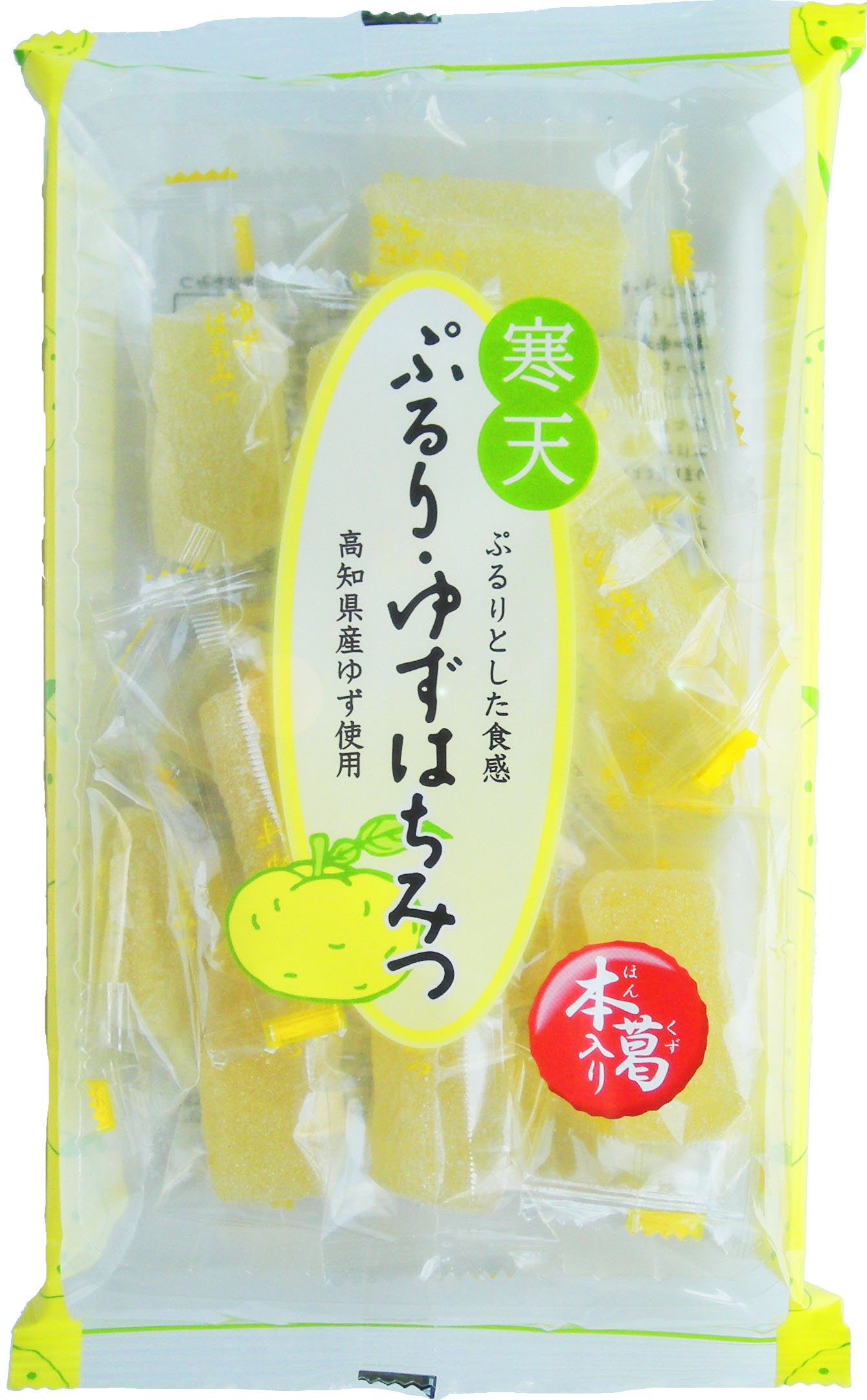 Tsuyama-ya confectionery Pururi-yuzu honey 210gX12 bags