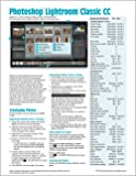 Adobe Photoshop Lightroom CC 2018Classic Introducción tarjeta de Guía de referencia (trampa Hoja de Instrucciones, Consejos & Accesos directos-laminadas rápida)