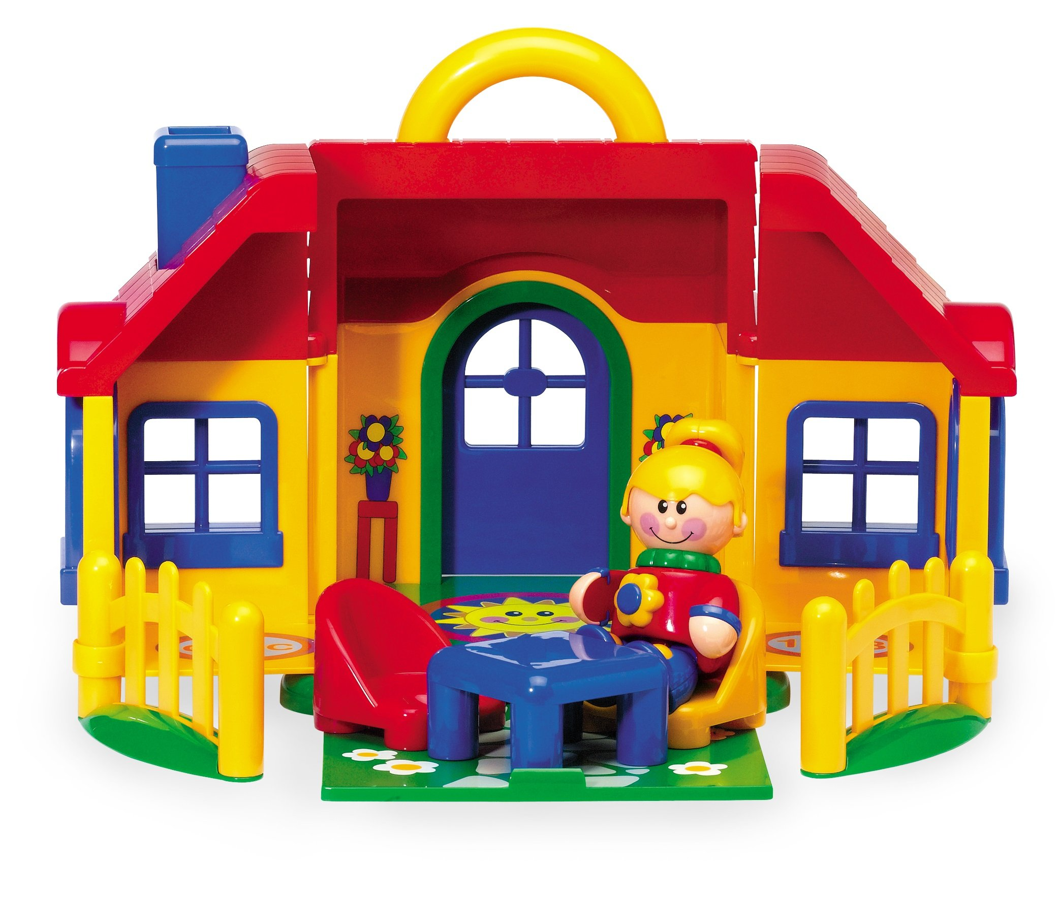Tolo Toys First Friends Folding Play House With Carry Handle and Accessories For Ages 1 To 5 Years