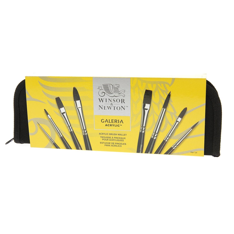 W&N  Galeria Acrylic Colour  Brush Set