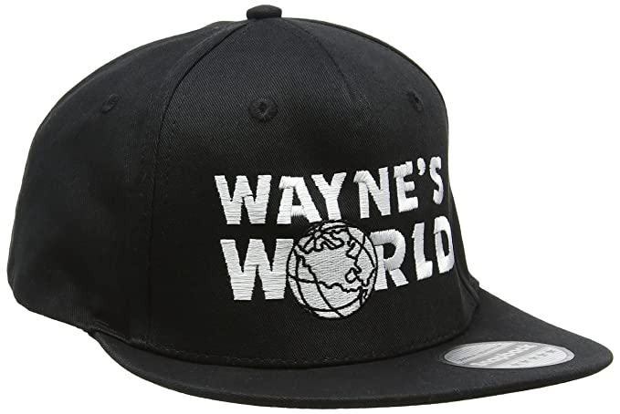 Gorro de rapero bordado Wayne s World  Amazon.es  Ropa y accesorios c75850716e8
