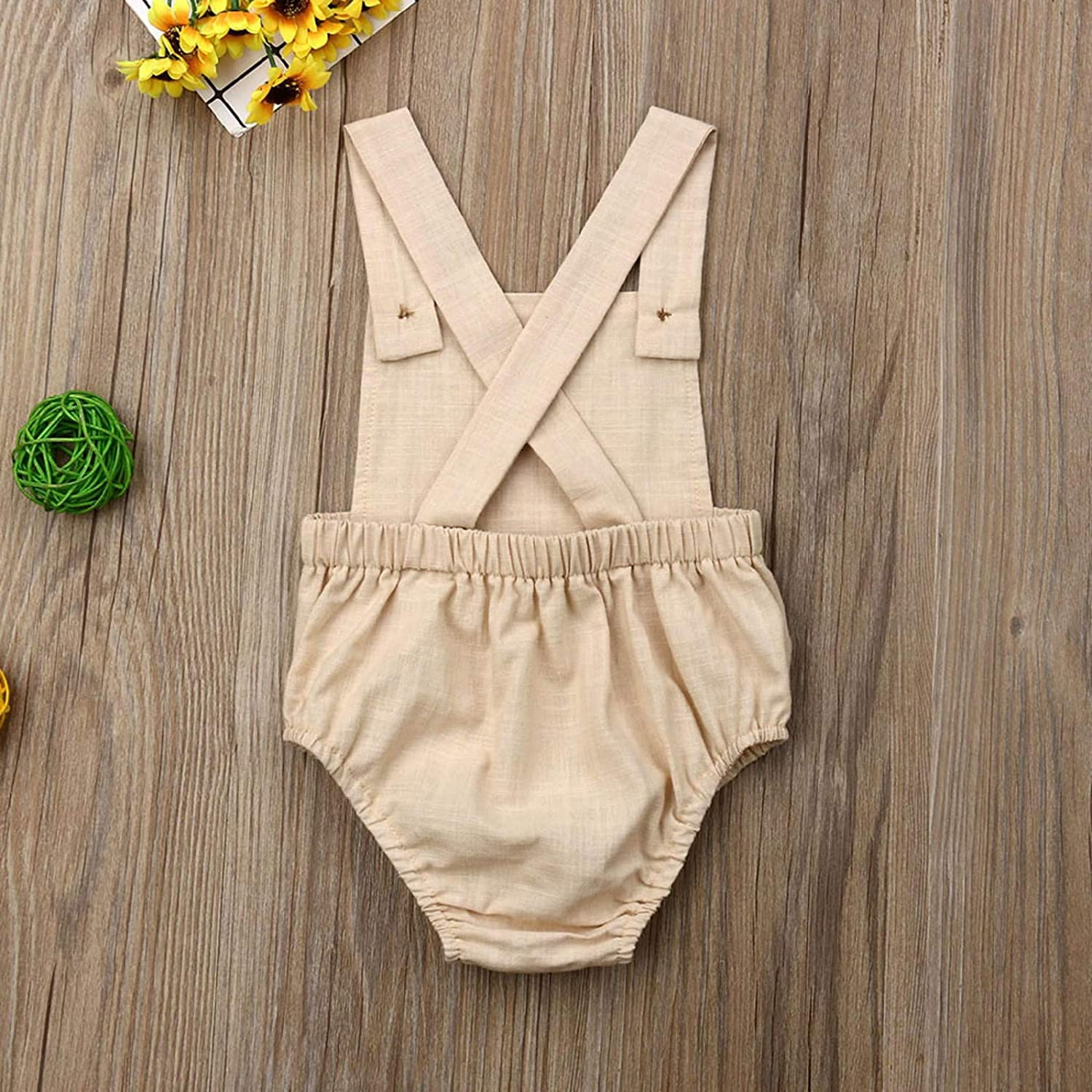 Amazon.com : Summer Toddler Infant Baby Boys Girls Solid Stripe ...