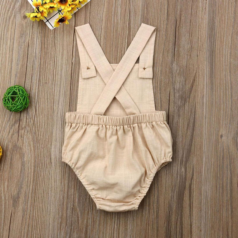 Amazon.com : Summer Toddler Infant Baby Boys Girls Solid Stripe ...