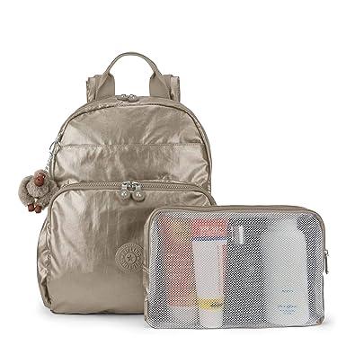 Amazon.com: Kipling Maisie Metallic Diaper Bag Backpack Metallic Pewter: Clothing