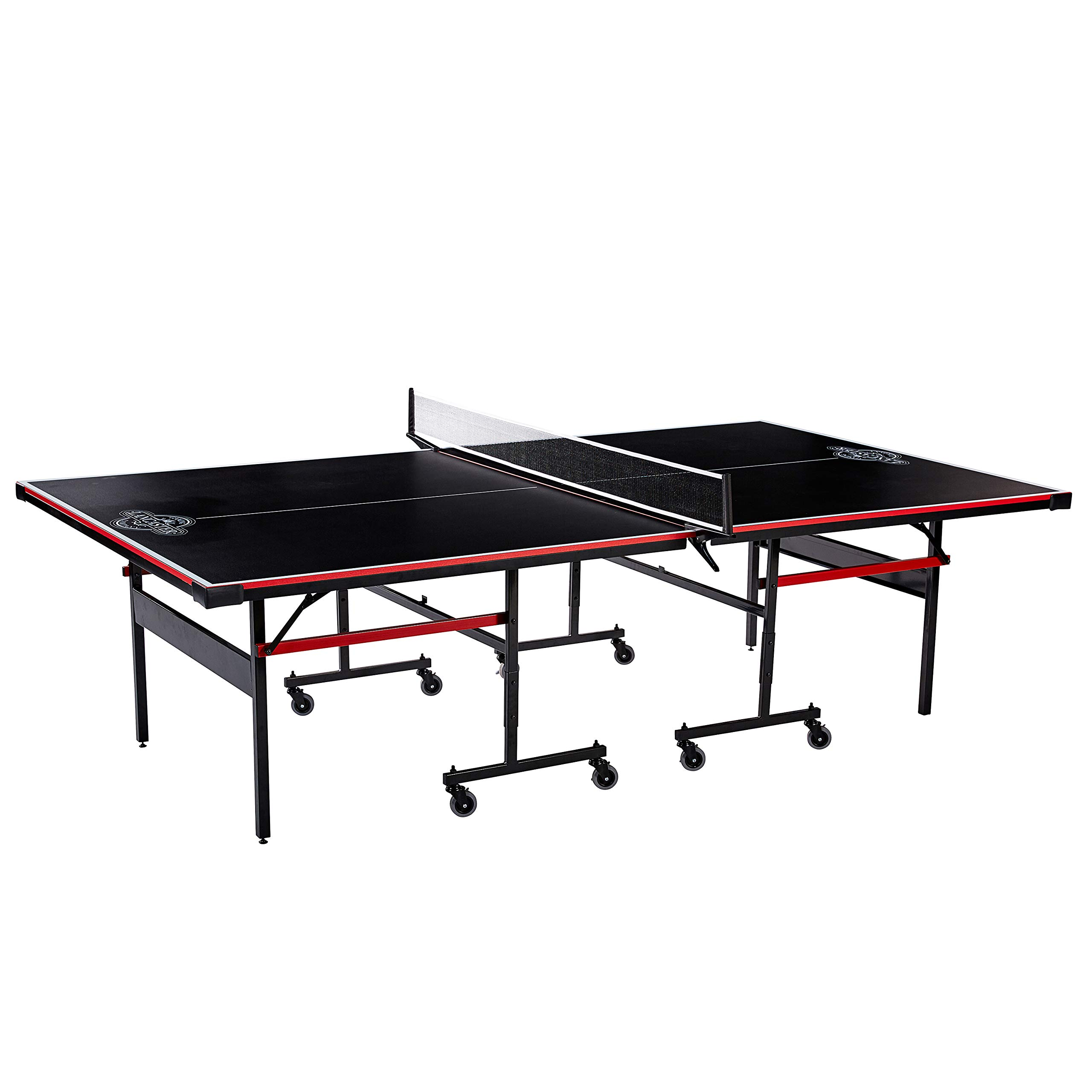 Lancaster Easy to Assemble Compact Portable Indoor 2 Piece Table Tennis Game by Lancaster Gaming Company