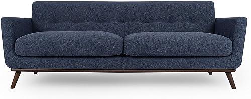 Kardiel Jackie Mid-Century Modern Classic 88 Sofa, Jagar Vintage Heavy Twill