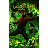 The Horned Mage Books 1-5: A New Adult Urban Fantasy Harem Adventure book cover