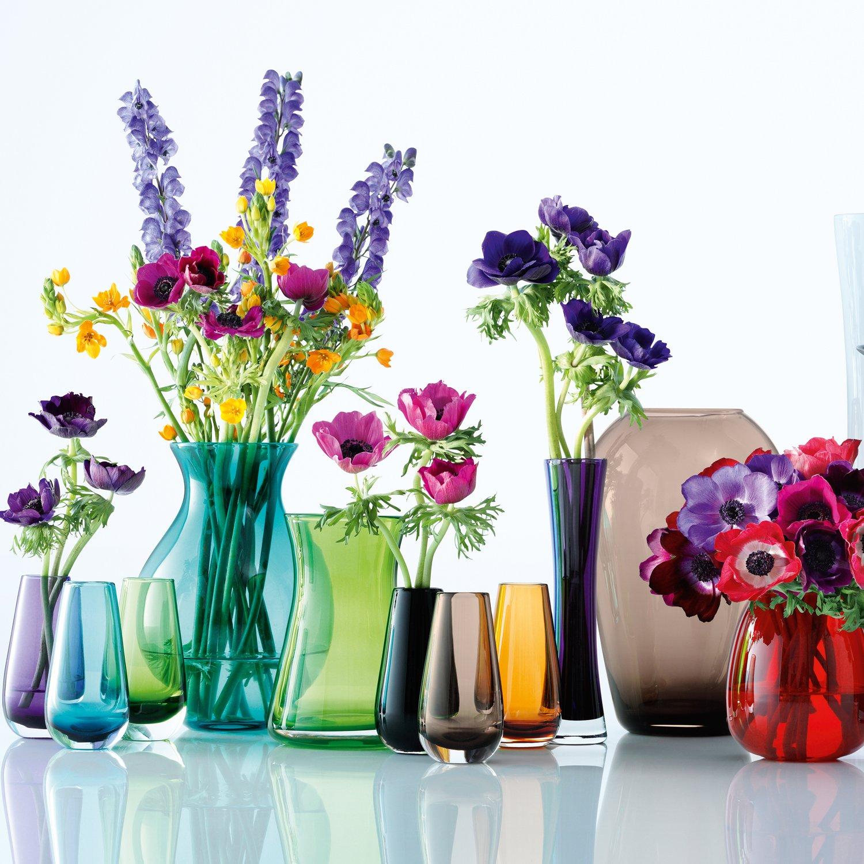 Amazon lsa international flower color bud vase h55 violet amazon lsa international flower color bud vase h55 violet home kitchen reviewsmspy