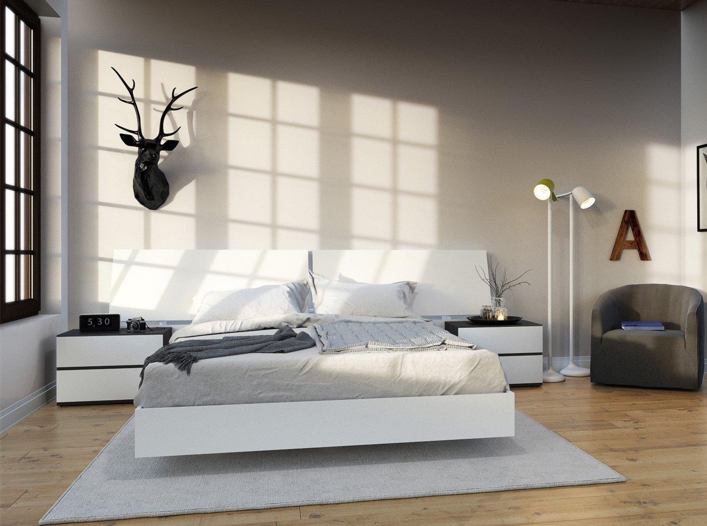 nexera furniture website. Nexera 346003 Acapella Queen Size Platform Bed, White: Amazon.ca: Home \u0026 Kitchen Furniture Website S