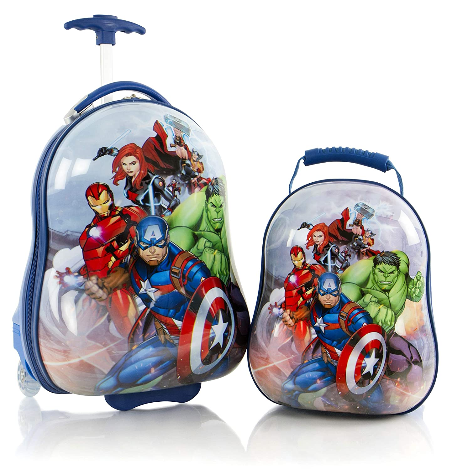 Heys America Avengers Boy's 2 Pc Luggage Set 18 Carry On Luggage 12 Backpack