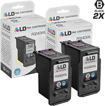 5204B001 Extra High Yield Black Remanufactured Ink Cartridge Canon PG-240XXL