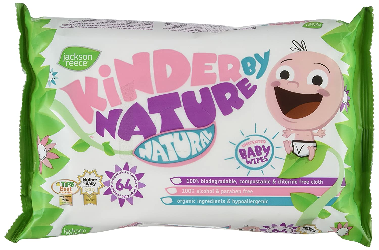 Jackson Reece All-Natural Wipes