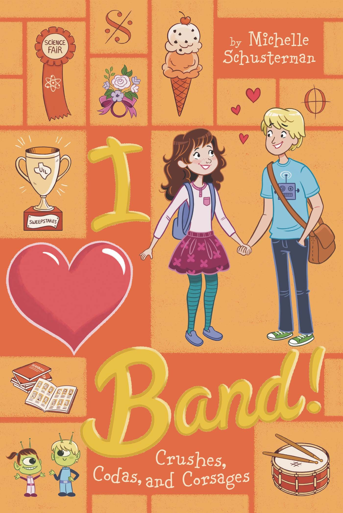 Crushes, Codas, and Corsages #4 (I Heart Band) ebook