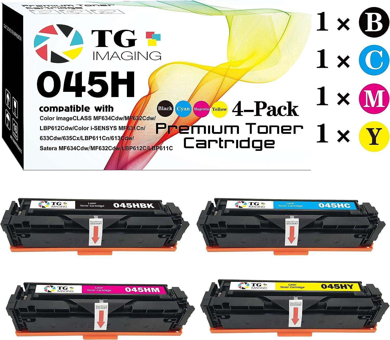 Tóner compatible con imágenes TG 045 CRG-045H...-LMPN(4un)