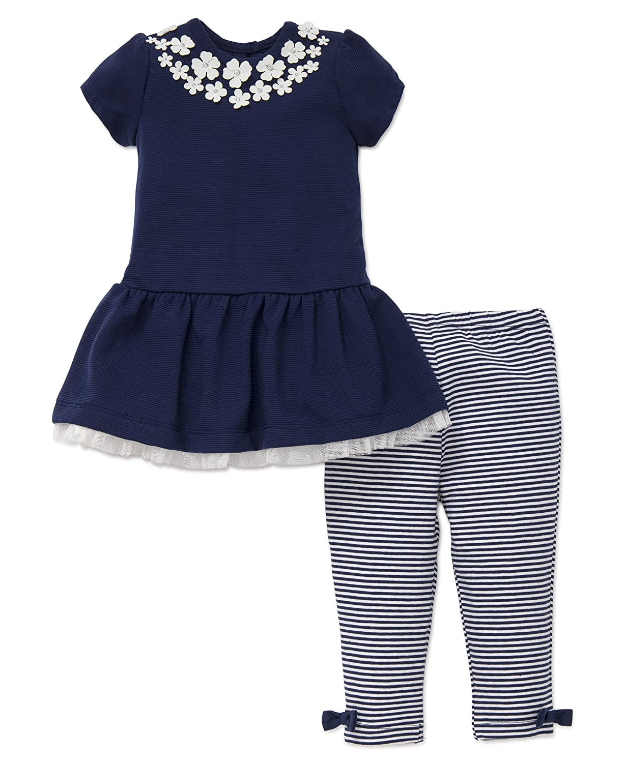 【大特価!!】 Little Me New DRESS ベビーガールズ Little 24 Months Navy DRESS New B075RNXQV2, アミュード:3e067386 --- a0267596.xsph.ru