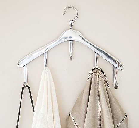Amazoncom Modern Wall Mounted Hanger Coat Hooks By Comfify Coat