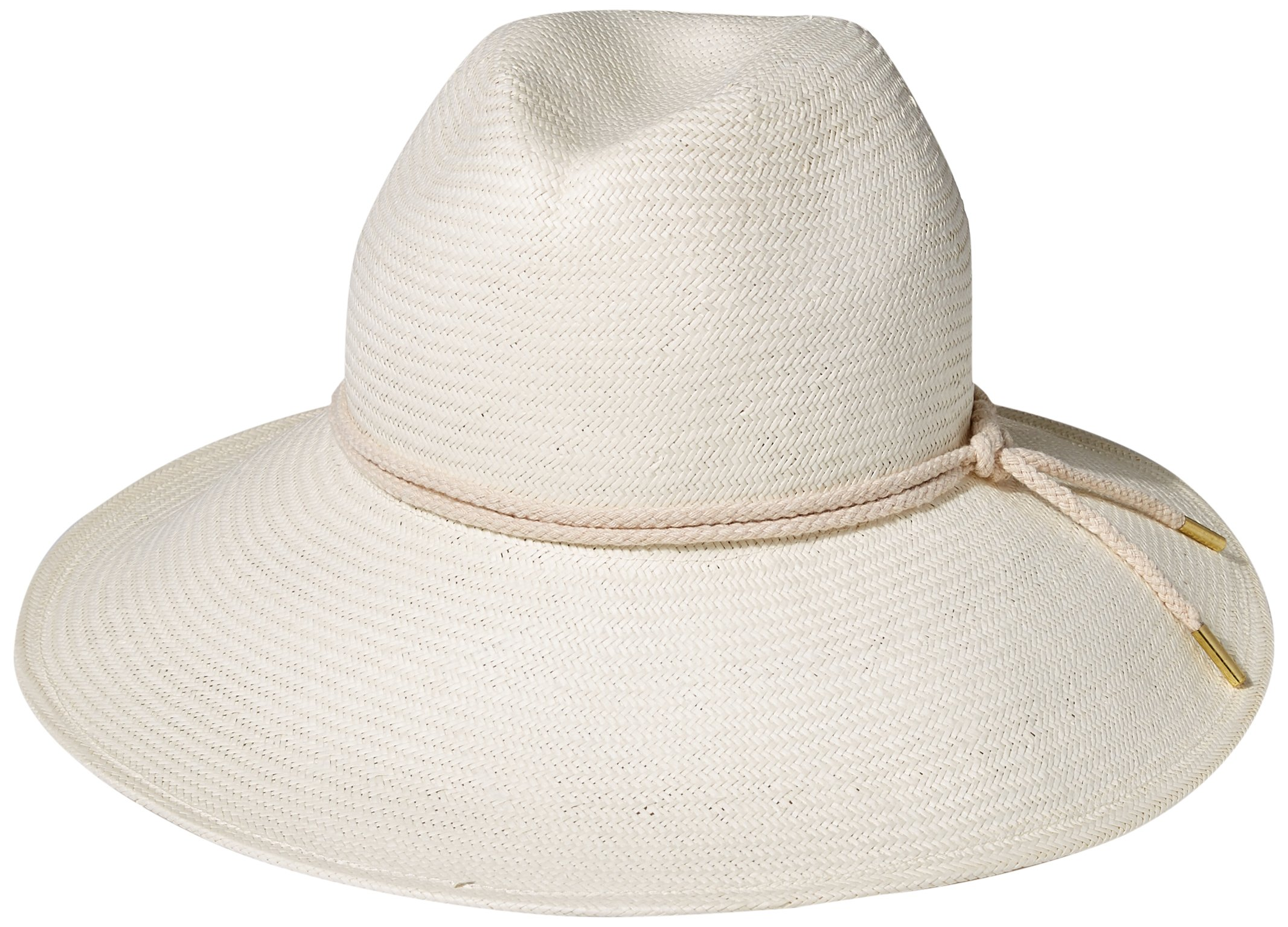 Gottex Women's Deauville Panama Sunhat Packable, Adjustable and UPF Rated, Ivory, One Size