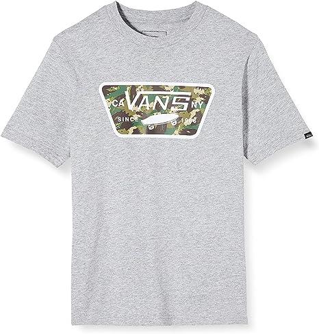 Vans Full Patch Fill Boys Camiseta para Niños: Amazon.es: Ropa y accesorios