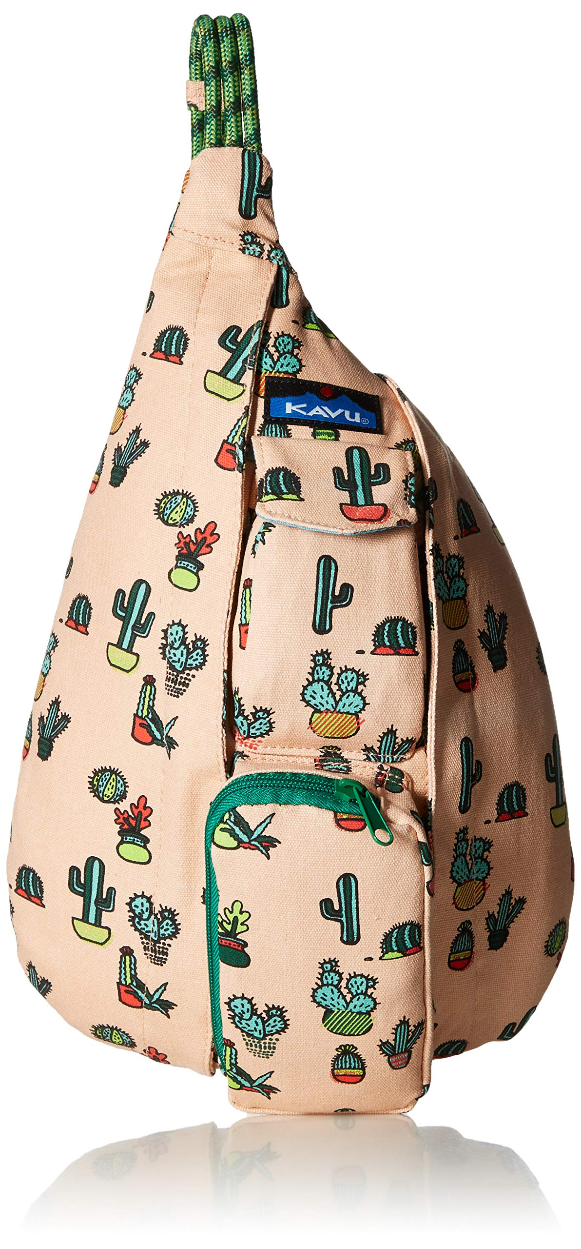 KAVU Women's Mini Rope Bag, Prickle Perfect, No Size