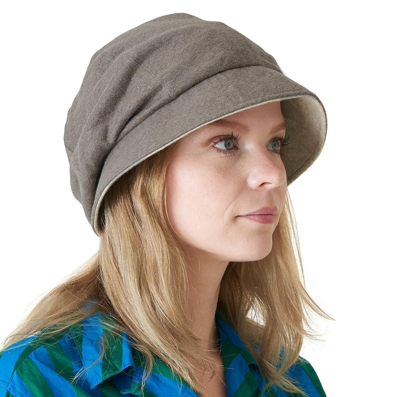 Casualbox Charm Womens Sun Hat Organic Cotton Reversible Japanese Design