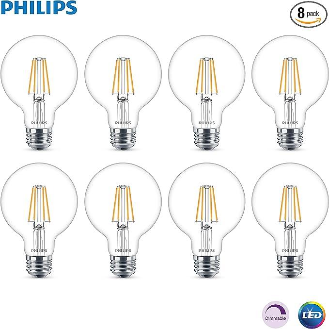 8 Watt LED Bulbs New R1 Four Phillips LED Bulbs 60 Watt Replacement